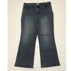 Fashion Bug 18W Blue Jeans Boot Cut Plus Size